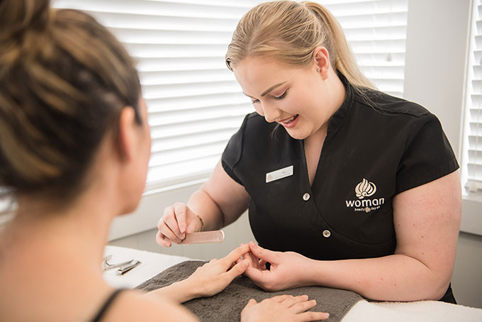 Looking for a Nail Salon in Nelson? Visit our day spa for your manicure or pedicure instead.