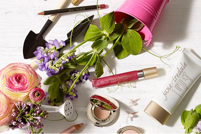 Jane Iredale Makeup event at woman in Nelson